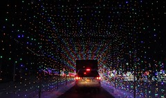 The exit tunnel (DC Products) Tags: 2017 newjersey sussexcounty augusta frankford skylandsstadium christmas christmaslights decorations holidays christmastime