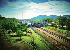 KTMB Slim River - http://4sq.com/phR8Jd #travel #holiday #nature #Asian #Malaysia #travelMalaysia #holidayMalaysia #Perak #slimRiver #大自然 #旅行 #度假 #亚洲 #马来西亚 #马来西亚度假 #马来西亚旅行 #发现马来西亚 #霹露 #mountain #山 #railway #train #火车