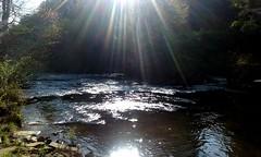 Edge of the World Photo (LonesomeHigh) Tags: nature lonesomehigh stream glare photo hiking