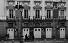 Teatro Español.  Madrid. (blanferblanc) Tags: teatro español fachada puerta plazasantaana callepríncipe madrid cartel