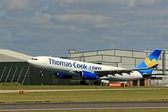 G-CHTZ Thomas Cook J78A1017 (M0JRA) Tags: gchtz thomas cook manchester airport planes flying jets biz aircraft pilot sky clouds runways