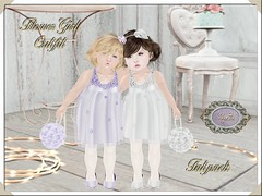 By Hanta - Flower Girl Outfit (Hanta by Hanta) Tags: trunkshow thetrunkshow secondlife toddleedoo toddleedoobaby toddleedookid slkids hanta