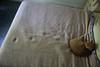 Nap-Prints (kawkawpa) Tags: kawkawpa img3980enhanced2 cat nap catnap footprints bedspread buddy