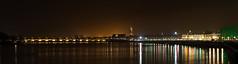 Bordeaux : Garonne : River : France : Gironde : Aquitaine : Nikon : D4 : 105mm F2-DC : Panorama : Panoramic : Nightshot : Longexposure (Benjamin Ballande) Tags: bordeaux garonne river france gironde aquitaine nikon d4 105mm f2dc panorama panoramic nightshot longexposure