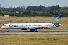 Condor D-ABOI Boeing 757-330 Winglets cn/29018-909 @ EDDL / DUS 26-06-2016 (Nabil Molinari Photography) Tags: condor daboi boeing 757330 winglets cn29018909 eddl dus 26062016