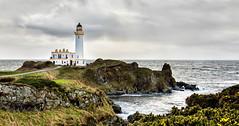 Turnberry Lighthouse Ayrshire... (Catherine Cochrane) Tags: waves ocean scottish outside coastal turnberrylighthouse sea landscape sky outdoors rock water light lighthouse scotland