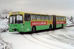 KVG Braunschweig 8108 Wolfenbüttel, 29.01.1993 (Tramfan2011) Tags: kvg braunschweig bus deutschland germany daimler o 305g