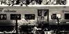 tren del tiempo (ojoadicto) Tags: monochrome sepia digitalmanipulation manipulaciondefotos tren train vagon buenosaires blackandwhite blancoynegro ventanas