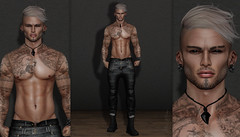 { Zerek } ({ Max Hades }) Tags: head bento skin applier body beard eyes hair base jeans sneakers belleza catwa vyc stealthic aviglam legal insanity dossier letre amias hipster men's event fameshed
