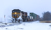 Dashing Through The Snow (Jackson Vandeventer) Tags: up snow snowdrift driftbusting ac4400cw ac44cw unionpacific unit unittrain exsp sp southernpacific kcsm kcsm4502 kansascitysoutherndemexico up6354 railroad railfanning railfan railroads rail rails railway rural train tracks track trains kegyc villagrove villagrovesubdivision illinois il locomotive photography power outdoor k3la horn ge generalelectric freight dusk stlouisserviceunit northbound manifest mixedfreight