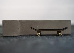 Slam Concretes - L Ledge (MartinBeckmann) Tags: tech deck fingerboard curb ledge ramp concrete concretes slam skateboarding skateboard blackriver flatface gran canaria barcelona spain shen stone