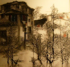 Silk Embroidered Picture (Toats Master) Tags: yangshuo china silk embroidery art pictures