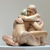 Embrace by Marc Sijan (Mikey Down Under) Tags: 2017 nga act australia baldhead barton canberra couple embrace exhibition gallery greyhair hugging hyper hyperreal man model naked national nude old portrait real sculpture silicone sitting woman marcsijan art artwork