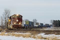 UP 1988 Findlay, IL (lewismarien) Tags: train railroad findlayil findlayillinois up unionpacific upheritageunit heritageunit heritage mkt thekaty upzycmxx ztrain stack intermodal emd sd70ace ge ac45ccte up1988 up7481