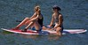 Taking A Break (swong95765) Tags: ladies woman water board paddle river sunshine sunner