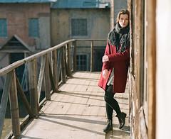 Ulana. (vladimir_romansky) Tags: pentax 67 pentax67 film 6x7 medium format kodak tmax girl portrait push 105mm bokeh people indoor outdoor