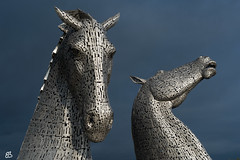 The Kelpies (emmanuelbernard1) Tags: ecosse thekelpies sculpture chevaux horses parchelix andy scott scotland