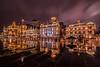 shanghai Pudong (Davy Laurens) Tags: mirror china rain artdeco old color gold light night f28 14mm samyang nikon d750 pudong shanghai