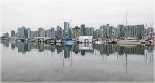 Vancouver 3 -  Waterfront Reflections