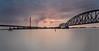 red sky over the steel plant (Der Hamlet) Tags: thyssenkruppstahl thyssenkruppsteel industrie industry stahlwerk steelplant roterhimmel ruhrgebiet rhein rheinriver flooding überschwemmung hochwasser