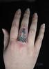 Micro Tattoos (tattoosthisway) Tags: knuckle fineline singleneedle lighthouse nautical tattoosthisway tattoos toronto microtattoo minitattoo micro mini tattoo miniature small tiny delicate aliek best