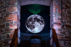 Moon projection in Observatory