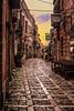 Tra le vie di Erice (ilsiciliano_) Tags: erice sicilia italia sunset landscape paesaggio canon street photography strada colours red yellow trapani mondo world europe europa