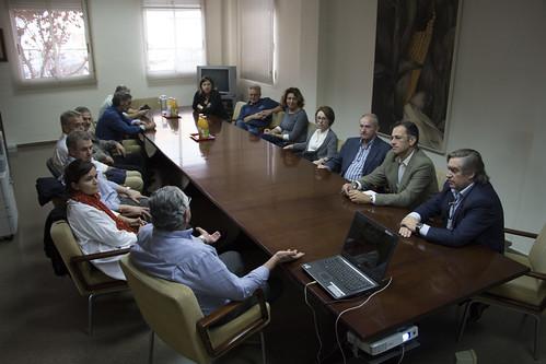 Visita del Grupo de contacto de cítricos ESP-IT-FR a CANSO. L'Alcúdia (03-11-2016)