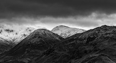 The Nab and Bedafell from Hallin Fell, Ullswater, Lake District (MelvinNicholsonPhotography) Tags: ullswater cumbria lakedistrict bedafell nabhead blackandwhite monochrome fells hills snow stormysky melvinnicholsonphotography