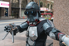 (jwcjr) Tags: atlantaga atlantapeople dragoncon dragoncon2015 people atlanta man costume fuji