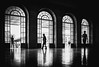 at the station (ThorstenKoch) Tags: street streetphotography stadt strasse schatten silhouette shadow schwarzweiss summer sun sonne staion licht lights lines linien light lissabon lisboa lisbon monochrome pov photography people portugal blackwhite bnw fuji fujifilm xt10 thorstenkoch outdoor indoor