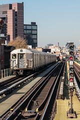 The J (sullivan1985) Tags: brooklyn jtrain nyct newyork newyorkcity newyorkcitysubway mta metropolitantransportationauthority subway elevated r32 train rapidtransit myrtleavenue railroad railway