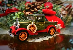 One week to Christmas . . (JLS Photography - Alaska) Tags: christmas truck 1931fordtruck decorations christmasdecorations decoration collection jlsphotographyalaska