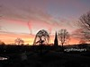 Sunrise, Brooke Park, Derry/Londonderry. (willieguildea) Tags: sun sunrise dawn sky clouds landscape tree trees derry londonderry ireland ulster nikon morning town city park grass