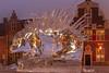 Wilhelminaplein - Naaldwijk (Jan de Neijs Photography) Tags: naaldwijk holland canonnl icecarving zuidholland southholland nederland thenetherlands dieniederlande westland hetwestland ice ijs wilhelminaplein stekelvarken carving ijssculptuur beeldhouwen frozen stekels porcupine