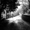 Walk.... (Eggii) Tags: time monochrome bw walk vellano toscana