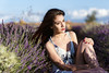 Lucía - 4/5 (Pogdorica) Tags: modelo sesion retrato posado chica campo lavanda brihuega lucia