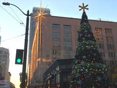 2017 YIP Day 357: Ring a Ling... (knoopie) Tags: 2017 december iphone picturemail tree christmastree downtown seattle macys macysstar 2017yip project365 365project 2017365 yiipday357 day357 itschristmastimeinthecity ringaling westlakecenter