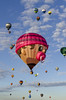 Hot Air Balloon 2 (rschnaible) Tags: albuquerque balloon fiesta festival hot air outdoor sky sport color colorful vehicle transportation fly flight new mexico west western southwest
