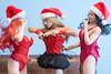 Of Corsets Christmas - Group Shoot - Day 20 (edwicks_toybox) Tags: 16scale hotplus tbleague asian basquecorsetdress blonde brunette corselet corset femaleactionfigure femaleshooter fireredrose flirtygirl highheels phicen redhead santahat seamlessbody superduck thong verycool