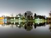 Noaptea în parc (Dumby) Tags: night lx3 panasonic bucharest românia ior titan bucurești landscape noapte reflections