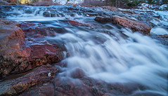 Truckee river (Middle aged Nikonite) Tags: truckee river water flowing long exposure rocks california nikon d750 landscape nature outdoor winter cisco grove