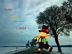 Meilleurs vœux pour 2018 (frenziM´s little world) Tags: 2018 happynewyear greeting manipulatedpicture
