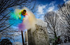 Wind Chill (drei88) Tags: coldspell winter windchill weather december newyear 2018 happynewyear celebration discovery vibrant motion color sky freezing frozen snow blast wintry extreme childhood cycles atmosphere energy charged love life feeling emotion pinwheel windswept desolate empty psychedelic