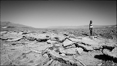 In the middle of Devil Golf, Death Valley, CA (Fabrice Muller Photography) Tags: 2017 alienskin arizona bw california color deathvalley devil devilgolf digital fabricemuller fabricemullerphotography fuji fujifilm golf landscape lifethroughoureyes ltoe road southwest travel trip usa utah women xt2 x100f