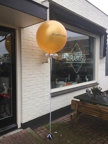 Cloudbuster Rond Restaurant Tiramisu by George Hilversum