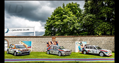 Lancia Delta S4 Gr.B & Integral Gr.A - Ford Focus WRC (Laurent DUCHENE) Tags: goodwoodfestivalofspeed fos 2017 lancia delta s4 grb integral gra ford focus wrc martini martiniracing