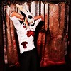 Bloody Bunny (Furlgrimr Photography <Open for commissions>) Tags: sl second secondlife photography photo portrait mask bunny gore chains blood