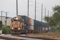 Classics (brickbuilder711) Tags: fec florida east coast train 109 sd402 union pacific 709 710 dania fort lauderdale miami