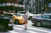 bozo crossing (ekonon) Tags: nikonl35af2 traffic crosswalk manhattan film nyc